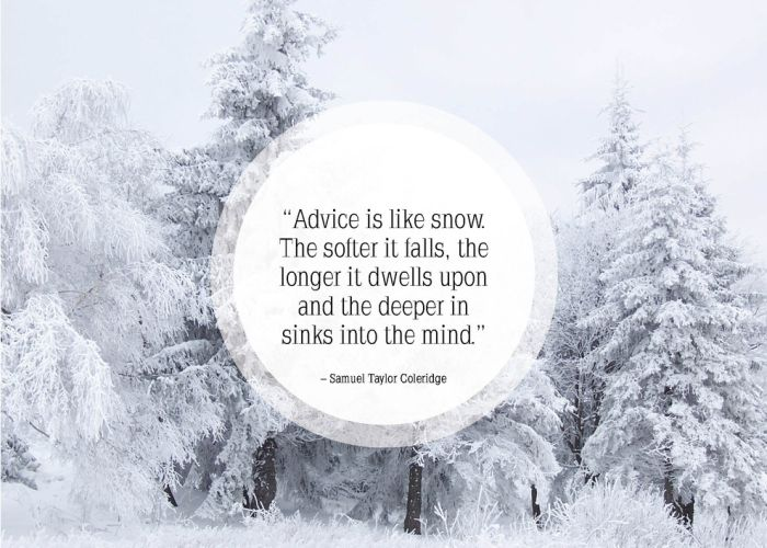 Quotes About Snow And Winter. QuotesGram