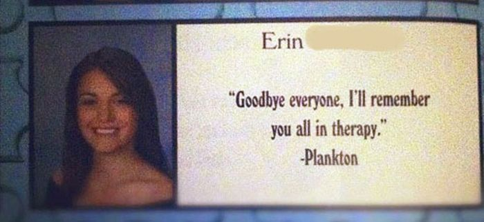 30 funny and smart yearbook quotes 009 funcage