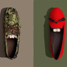 The smiley shoes project by POP.Postproduction studio 002