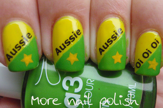17 awesome nail art designs for australia day funcage 17 awesome nail art designs for australia day 004 prinsesfo Images