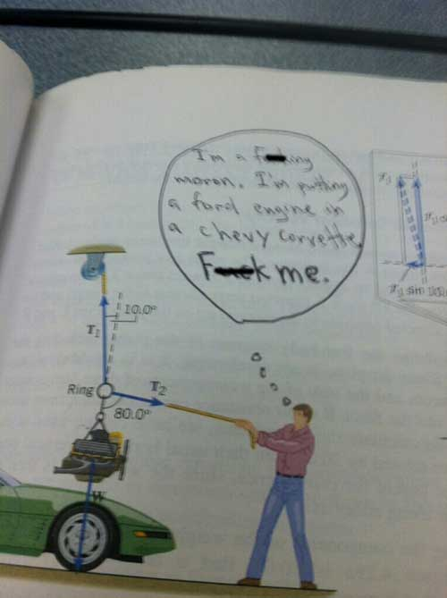 22 Hilariously Defaced Textbooks 017