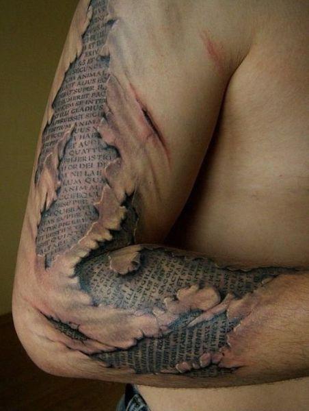 Optical Illusion Tattoos 001