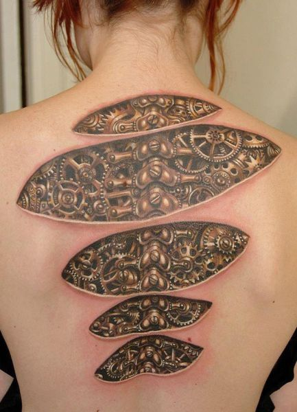 Optical Illusion Tattoos 006