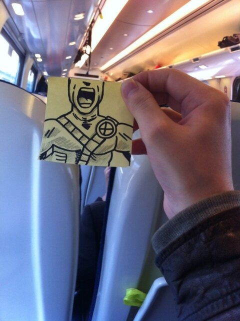 This Guy Has a Funny Solution For Avoiding Boredom On His Commute 002