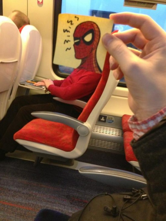 This Guy Has a Funny Solution For Avoiding Boredom On His Commute 017