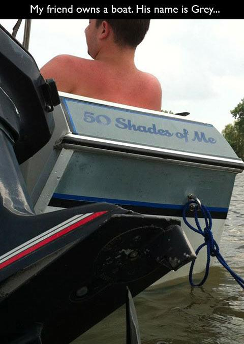 24 Funny Boat Names Funcage