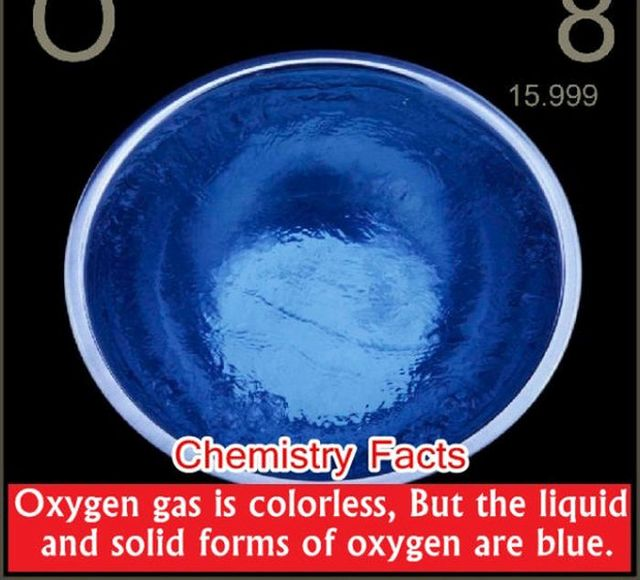28 interesting chemistry facts