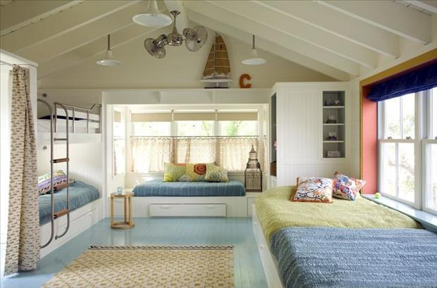 30 beautiful bedrooms for kids funcage for Beautiful bed room