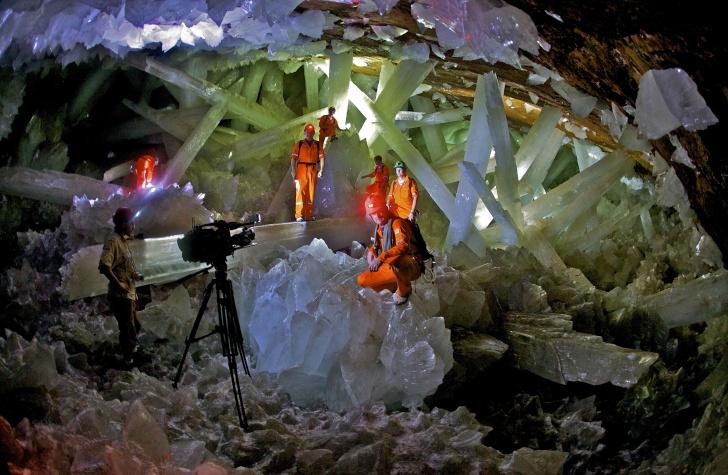 Naica Crystals Caves (Mexico)