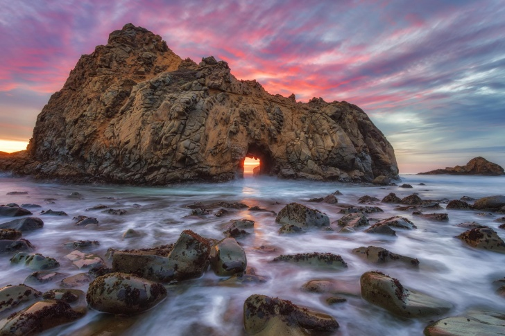 Pfeiffer Beach, California, USA