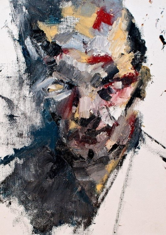 abstract portraits paintings 20 photos funcage