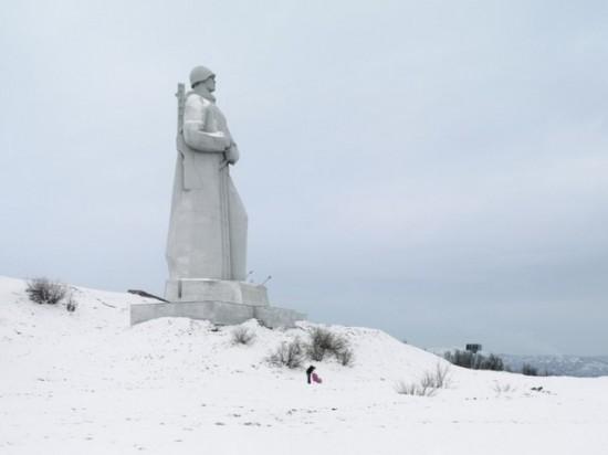Alyosha monument. Murmansk, Russia, 35.5 m