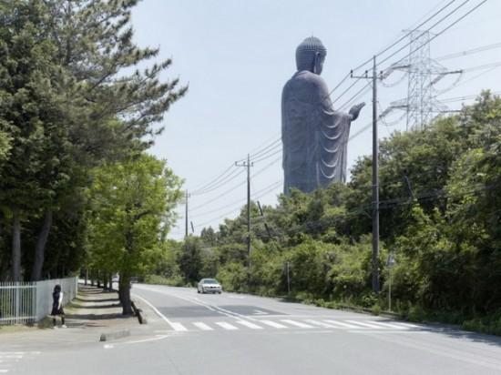 Amitabha Buddha. Ushiku, Japan, 110 m