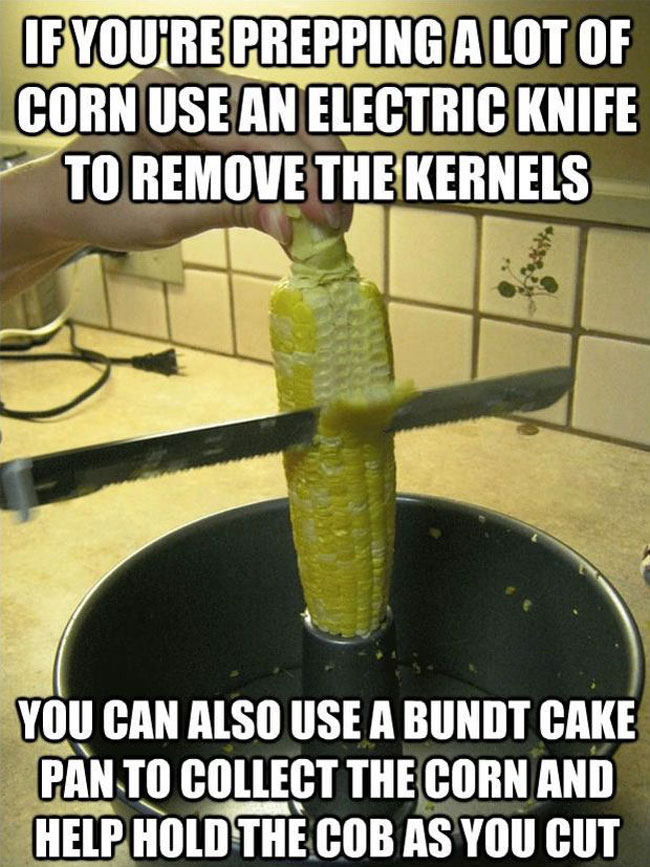 Electric Carving Knife Bundt Cake Pan Easy Corn On The
