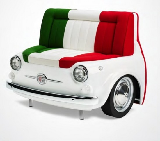 15 creative and super cool furniture pieces funcage for Furniture made from cars