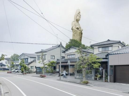 Jibo Kannon. Kagaonsen, Japan, 73 m