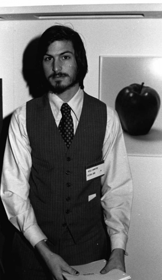Steve Jobs – he didn't realize he'd change the world