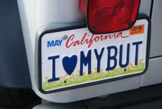25 funny license plates funcage