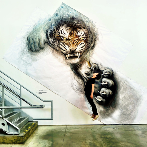 Amazing 3D Illusion Paintings Of Animals 001