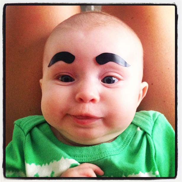 Babies With Funny Eyebrows 021 Funcage