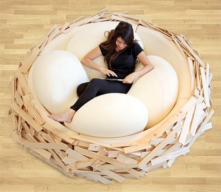 Birdu0027s Nest Bed 002