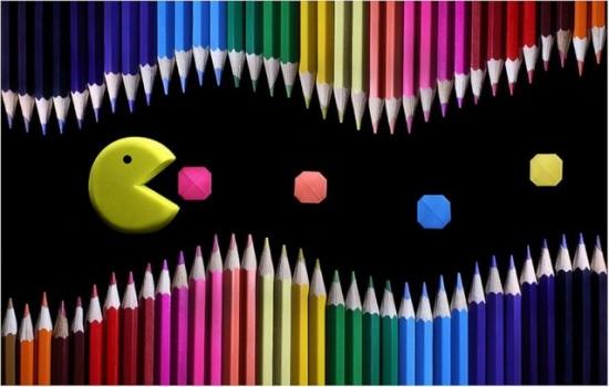 Colored Pencil and Origami Landscapes by Victoria Ivanova 003