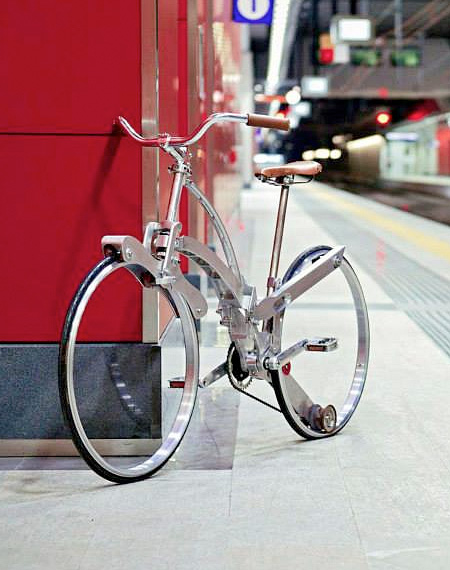 Foldable Bicycle by Italian engineer Gianluca Sada 001