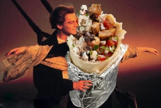 Iconic Romantic Scenes Get The Burrito Treatment 001