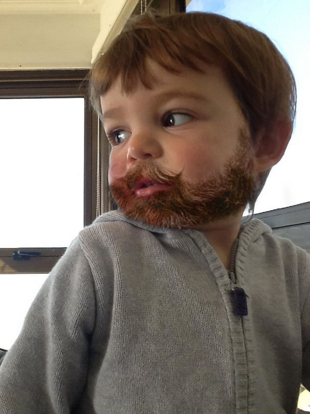 Kids With Beards, That's All (7 Photos) - FunCage