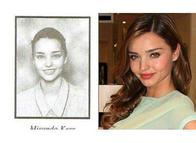 Supermodels And Their Yearbook Photos 001