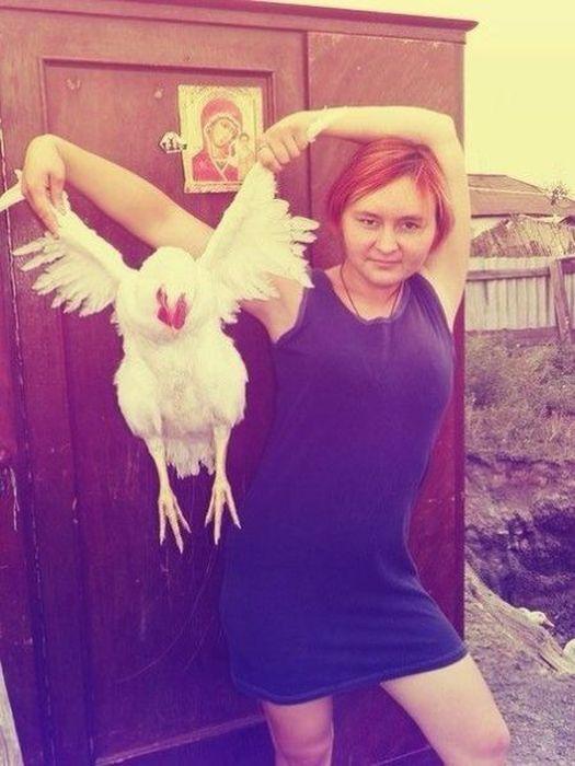 The Weirdest Russians On Social Media 036