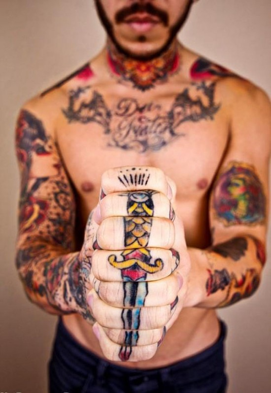 15 Cool And Trendy Knuckle Tattoo Designs For Guys Funcage