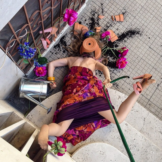 Hilariously Contrived Accidents of People Consumed by Material Goods 009