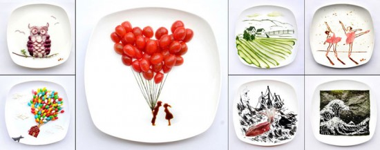 Painting with Food by Red Hong Yi 001