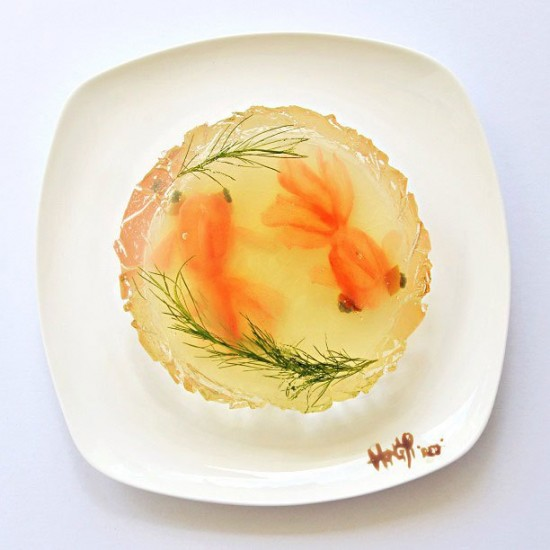 Painting with Food by Red Hong Yi 005