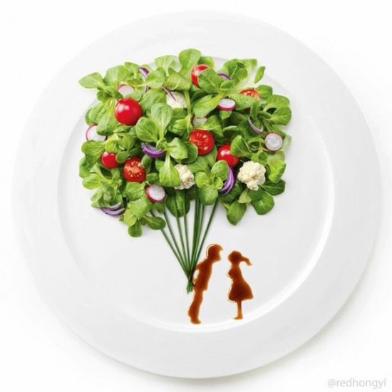 Painting with Food by Red Hong Yi 006