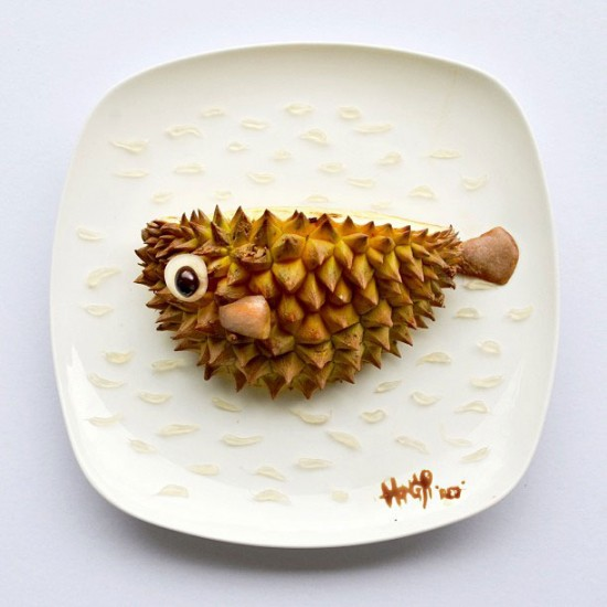 Painting with Food by Red Hong Yi 007