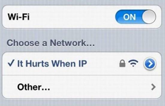 People having fun with their Wifi Names 001