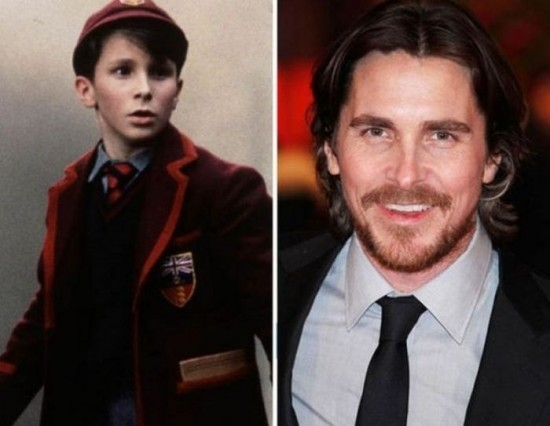 Christian Bale – 1997 and now