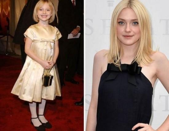 Dakota Fanning – 2001 and now