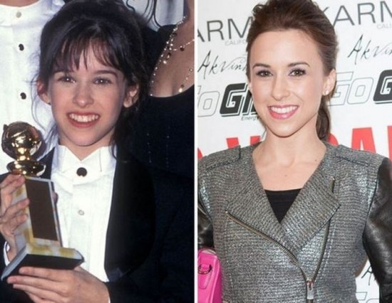 Lacey Chabert – 1996 and now