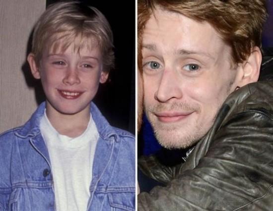 Macaulay Culkin – 1991 and now
