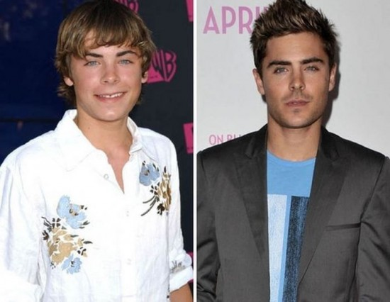 Zac Efron – 2004 and now