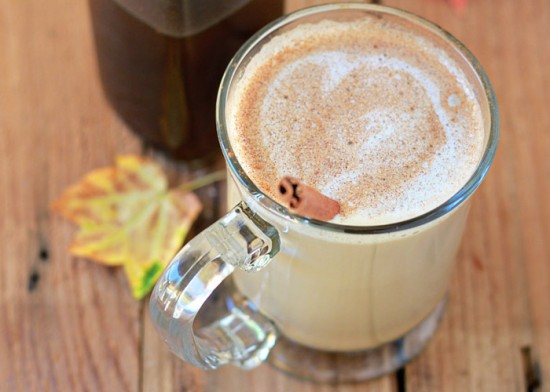 Homemade Pumpkin Spice Latte & Coffee Syrup