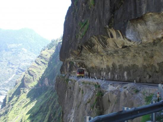 Shimla to Manali Route india