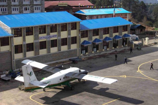Nepal's Lukla airport