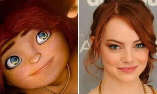Emma Stone – Eep from The Croods