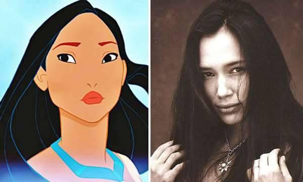 Image result for irene bedard pocahontas