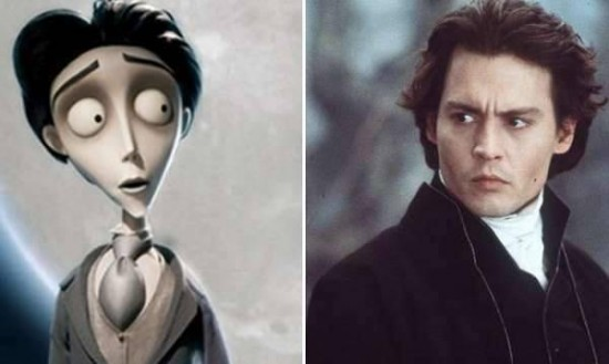 Johnny Depp – Victor Van Dort from Corpse Bride