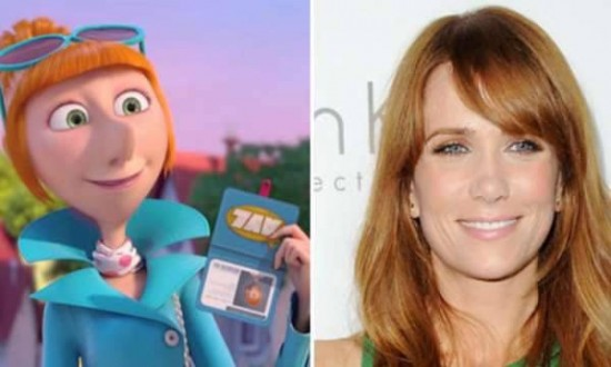 Kristen Wiig – Lucy Wilde in Despicable Me